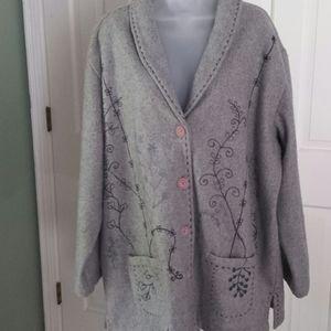 Cedar Canyon wool coat size 2x